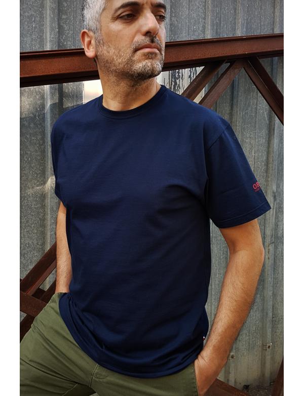 Tshirt fabriqué en France ORIJNS Basic - marine