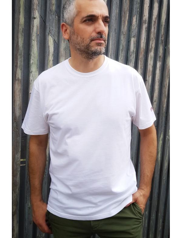 Tshirt ORIJNS Basic Blanc - Made in France
