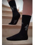 Chaussettes musique noires Made in France