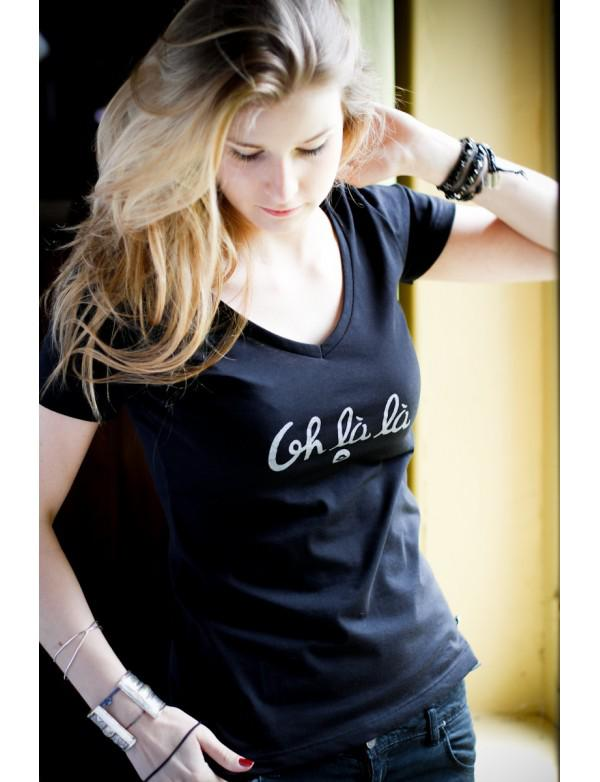 Top T-shirt Femme Made in France Orijns