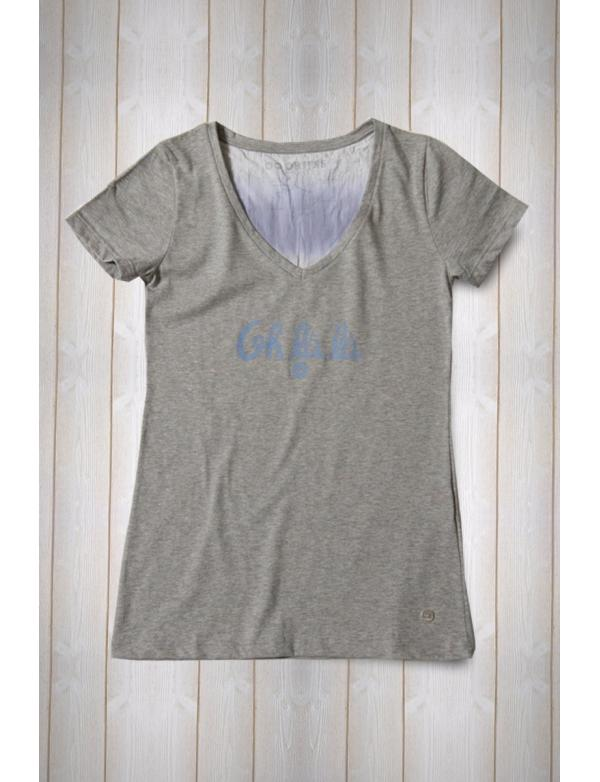 f57d495b48615 Top T-shirt Femme Made in France Orijns