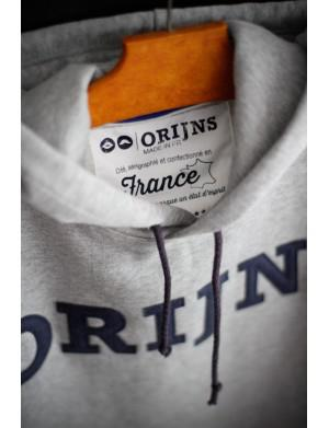 Sweat Made in France Orijns gris bleu