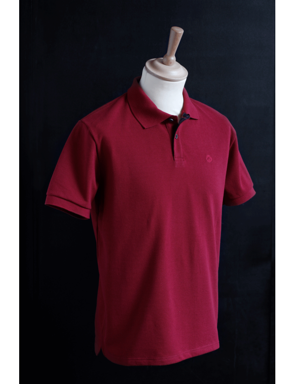 Polo Made in France ORIJNS Cherry