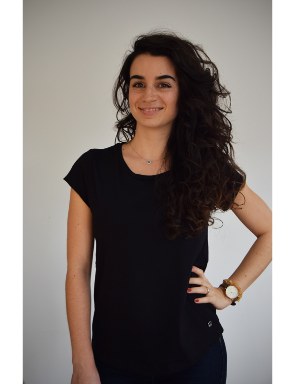 Top Made in france uni Noir